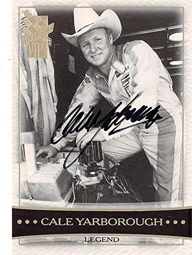 Cale Yarborough autographed trading card (Driver Auto Racing Nascar) 2001 Press Pass #CT37 - Autographed NASCAR Cards