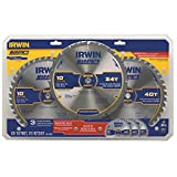 3 Irwin Marathon 10 Circular Table Saw Carbide Blades