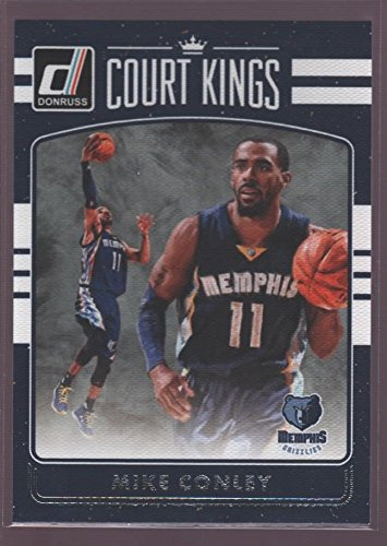 - MIKE CONLEY MEMPHIS COURT KINGS CANVAS COLLECTION SKETCH ART SP 2016-17 DONRUSS