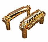 Babicz FCHTOMGDP  Full Contact Hardware, Tune-O-Matic Bridge and Tailpiece, Gold