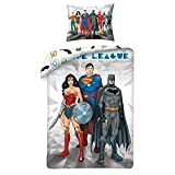 Halantex Justice League Single Duvet Cover and Pillowcase Set