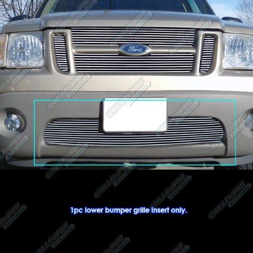 Explorer Grille 01 Billet Ford - APS Fits 01-06 Explorer Sport/Sport Track Lower Bumper Billet Grille #N19-A22358F