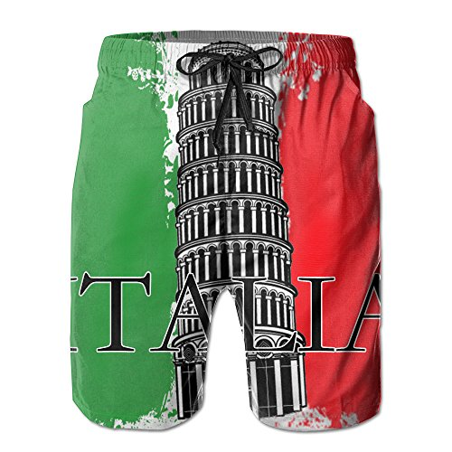 italian flag swim trunks - 5