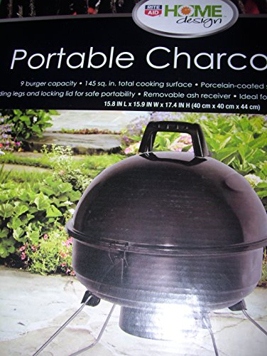 rite aid home design portable charcoal grill cing