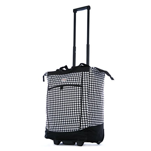 (Olympia Fashion Rolling Shopper Tote - Houndstooth, 2300 cu. in.)