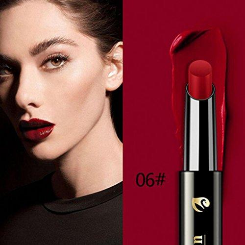 Jinjiu lipstick, Waterproof durable professional selected Vampire Style Makeup Lipstick Lip Gloss young girl for partyLiquid Lipstick Moisturizer Velvet Matt sexy romantic Lipstick Cosmetic -