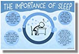 The Importance Of Sleep - NEW Health and Safety POSTER