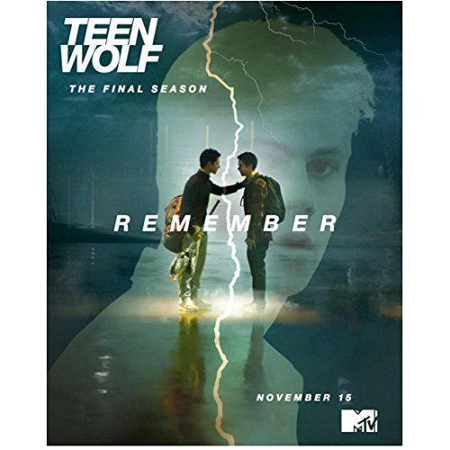 "Tyler Posey 8 inch X 10 inch photograph Teen Wolf (TV Series 2011 - ) ""The Final Season"" Title Poster kn"
