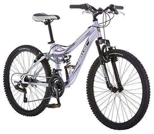 Mongoose Maxim Girls Mountain Bike 24 Inch Wheels