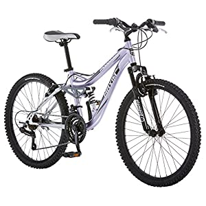 Mongoose Maxim Girls Mountain Bike, 24-Inch Wheels