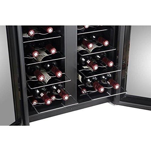 Continental edison cecwc24z2 cave a vin multi-températures 24 bouteilles 3612406452801