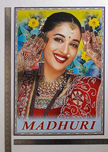 Madhuri Dixit Bollywood Poster 20x28 Inch