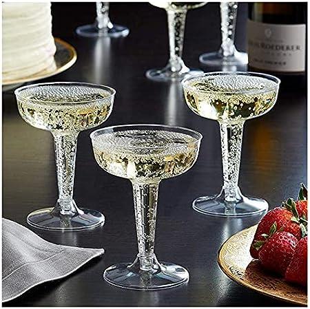 Helado Scoop Copa de copa de plástico Copa de remolacha Whisky Boron Martini Vino Taza de vino con barra de bebida Club de noche Boda de fiesta de Halloween Cuchara ( Capacity : 120ml , Color : 6pcs )