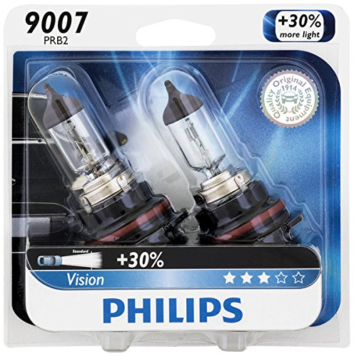96 Ford F150 Headlight (Philips 9007PRB2 Vision Upgrade Headlight Bulb, 2 Pack)