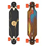Loaded Boards Icarus Bamboo Longboard Skateboard Complete w/80mm 80a Kegels (Flex 2)
