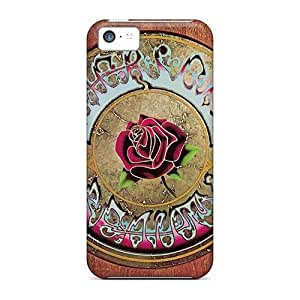 Shockproof Hard Cell-phone Cases For Iphone 5c (IMZ3883Sqco) Allow Personal Design Fashion Grateful Dead Image