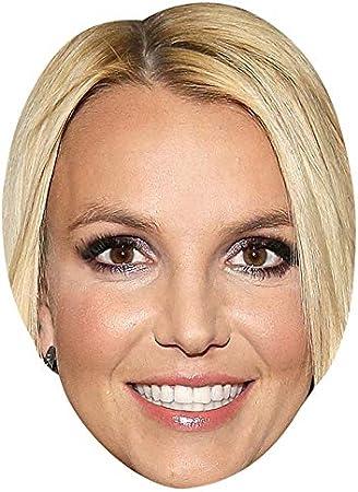 BMPrintShop Ltd – Máscara de Britney Spears para fiesta de ...