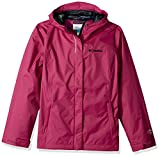 Columbia Big Girls' Arcadia Jacket, Deep Blush, Large