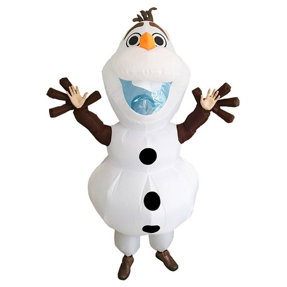 EyeCandy UK Inflatable Olaf Christmas Mascot Costume Adult Fancy ...