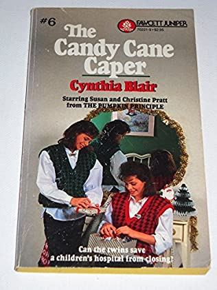 book cover of The Candy Cane Caper