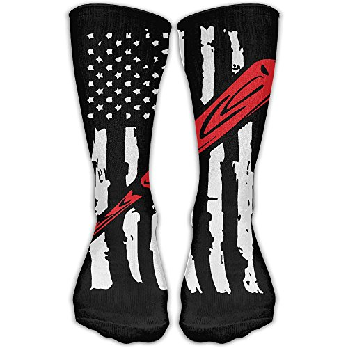 Unisex Baseball Softball American Flag Soft Long Socks Winter (Formal Cosplay Ideas)