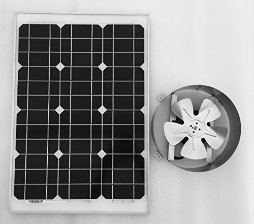 Amtrak Solar Attic Fan, 35 watt by Amtrak Solar