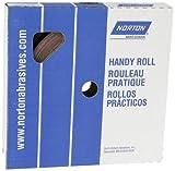 Norton K225 Metalite Abrasive Roll, Cloth Backing, Aluminum Oxide, 1'' Width x 50yd Length, Grit P120