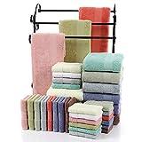 XJG 3pcs High-grade Hotels Set Bath Towels 100% Egyptian Cotton Hand Face Soft Towel White one size