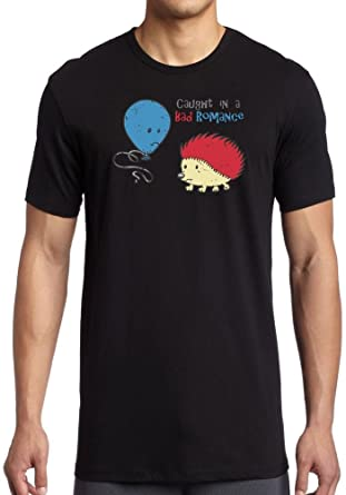 3eb3b1564 Caught In A Bad Romance Hedgehog and Balloon - Funny - Kids T-Shirt ...