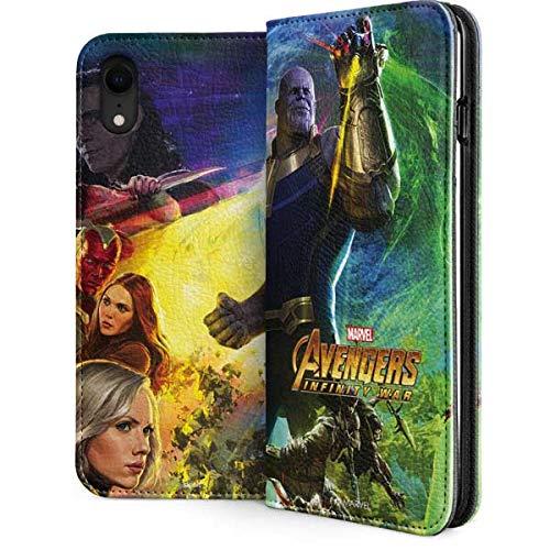 iphone xr marvel wallet case