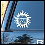 you are the dean to my sam - Anti-Possession symbol SMALL Vinyl Decal | Supernatural Sam Dean Winchester Brothers Idjit Bitch Jerk Castiel Impala CW | Cars Trucks Vans Laptops Windows Cups Tumblers Mugs Walls | Made in the USA