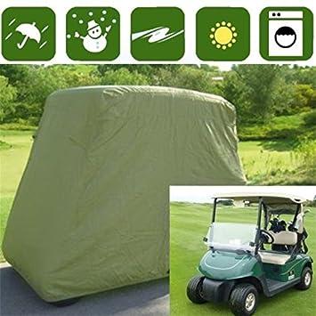 Burrby 2 - Funda de almacenamiento para carrito de golf, resistente al agua y al polvo, ...