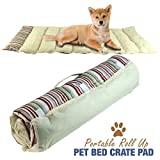 Best  - Portable Dog Bed Roll Up Pet Mat Crate Review