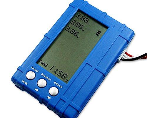DJI RC Model 2s-6s Lipo Li-Fe Battery Balancer LCD Voltage Meter Tester Discharger 50W