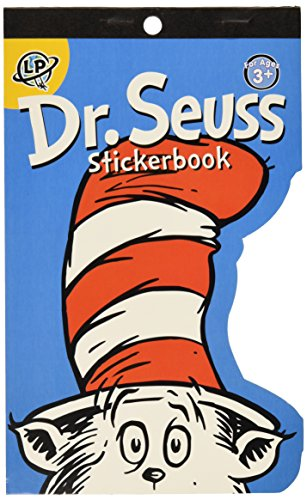 Eureka Die-Cut Stickerbook Dr. Seuss Learning Playground Sticker Book