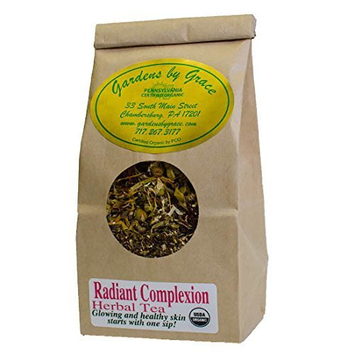 Super Antioxidant, Alpha-hydroxy Skin Enhancement   Reduces Blemishes, Evens Dark Spots, Clearer Skin   Anti-aging, Radiant Organic Herbal Tea Remedy, - Locations Spot Clear