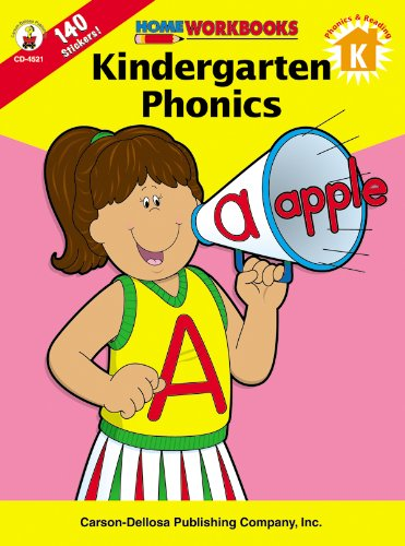 Kindergarten Phonics, Grade K (Home Workbooks)