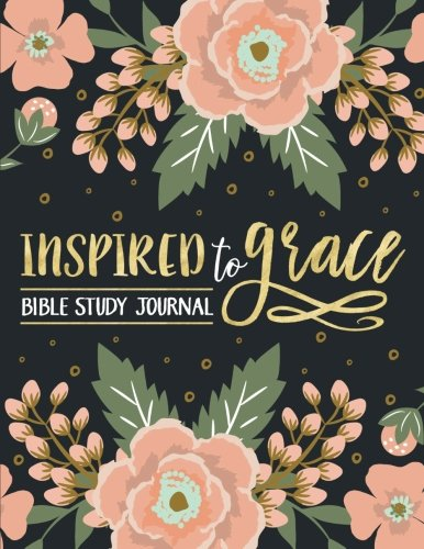 Inspired To Grace Bible Study Journal: Coloring Edition: 3-Month Christian Journal