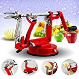 Bekith Apple and Potato Peeler Slicer & Corer with Suction Base, Works for Apples, Potatoes, Pears