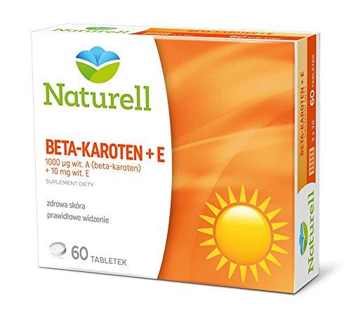 BETA CAROTENE + VITAMIN E - 60 capsules by USP Zdrowie