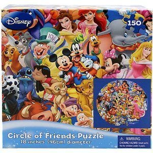 Lenticular Circle of Friends Puzzle, 150 piece