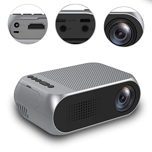 GMACCE Proyector, Mini proyector de Cine en casa MAX, Full HD LED ...