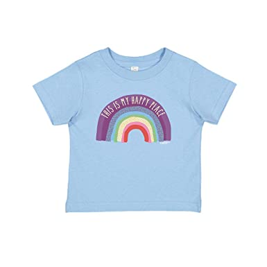 Rainbow Apparel For Baby T Shirt Gifts My Happy Place Infant