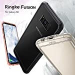 Ringke Fusion for Samsung Galaxy S8 2017 16 Supports Qi Wireless Charging without the hassle of having to remove the case for Samsung Galaxy S8. Crystal clear protection with advanced 2X tough coating enhances the original look with minimal bulk. Dual active coverage includes inner corner cushions to protect from drops while offering ultimate slimness. Ringke FUSION offers MIL-STD 810G - 516.6 Certified Military Grade Drop Protection in a slim and sleek profile. Slim transparent TPU bumper with Active Touch Technology allows easy and natural access to all vital ports and buttons. Soft flexible premium edges cover all four corners with guards and tapered lips to lift off flat surfaces for raised bezel protection against daily use scratches.