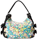 Iron Fist Over The Rainbow Hobo Shoulder Bag,Aqua,One Size, Bags Central