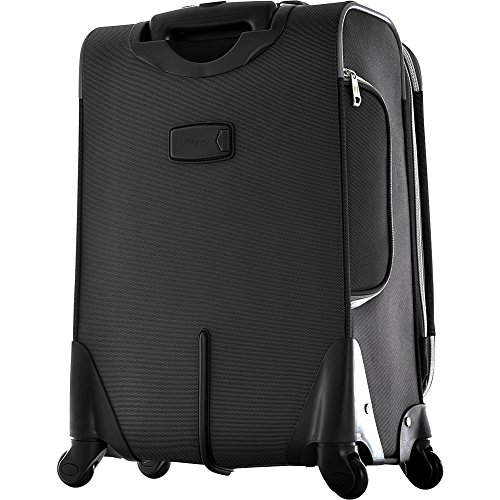 Olympia Luggage Skyhawk 22 Inch Expandable Airline Carry-On,Black,One Size by Olympia (Image #3)