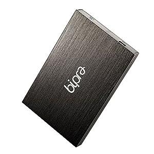 Bipra 160Gb 160 Gb 2.5 Inch External Hard Drive Portable Usb 2.0 - Black - Fat32