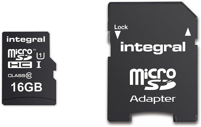 Integral Memory Inmsdh16g10 90u1 Microsdhc Class 10 Computer Zubehör