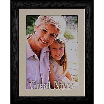 Amazon.com: 5 x 7 ~ Great tía Retrato Picture Frame ~ Jumbo ...