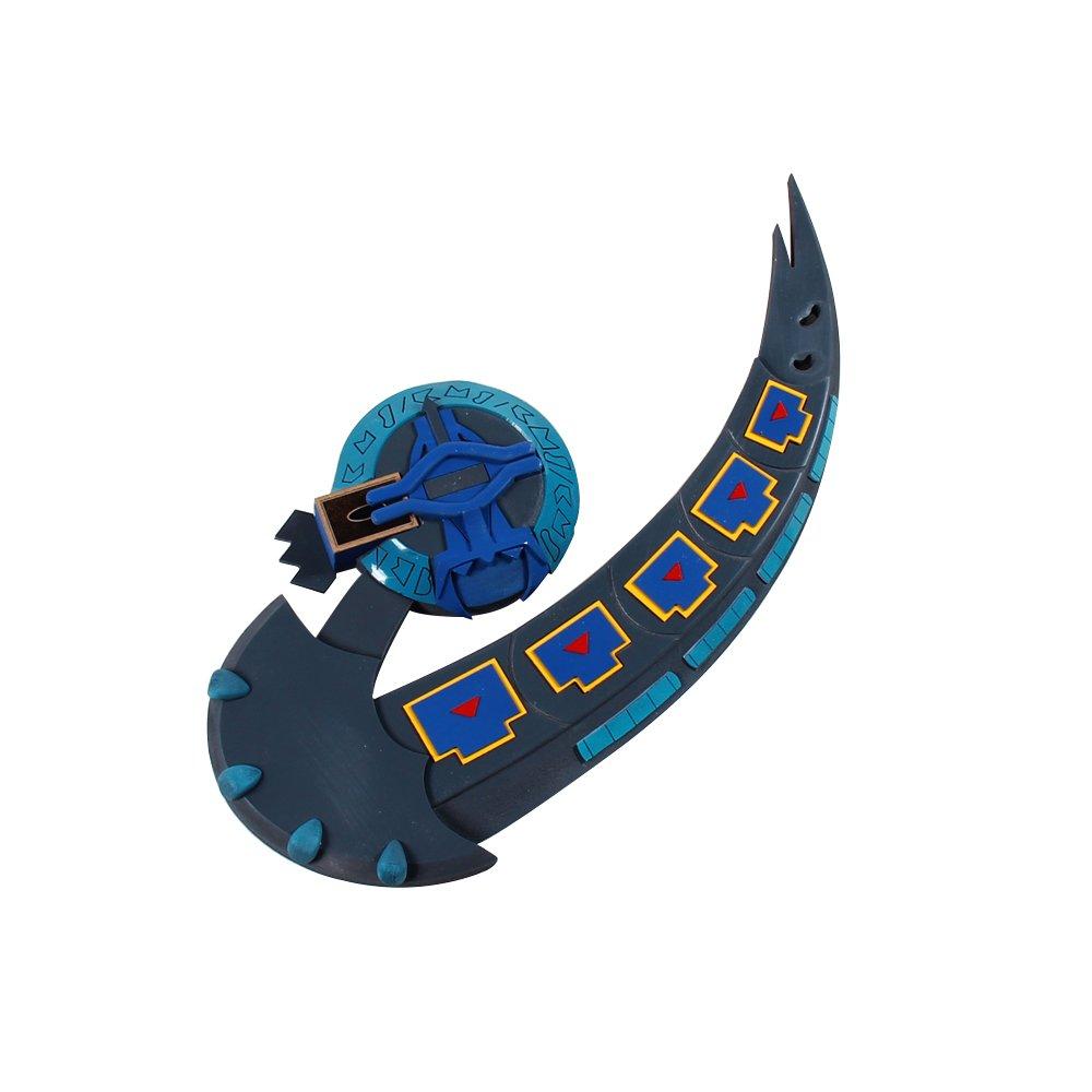 Mtxc Yu-Gi-Oh! Cosplay Prop DM Dartz Duel Disk Blue
